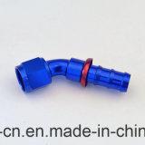 An10 45 gradi montaggi di spinta della serratura di estremità del tubo flessibile