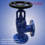 De Norm van DIN. J44h gs-C25 de Sluitklep van de Klep van de Bol van de Hoek van Wcb Door Wenzhou Fabrikant