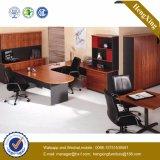 マホガニーおよび黒いカラー現代オフィス用家具(HX-FCD054)