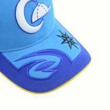 Panel-Baumwollbaseballmütze des Qualitäts-Blau-6
