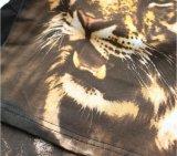 마지막 디자인 본래 도표 1-4y 3D 인쇄 호랑이 긴 소매 아이 t-셔츠, 스퀘어 17100 티