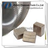 Disco del calcestruzzo d'acciaio del quarzo della pietra di taglio di segmento del granito di punta del diamante
