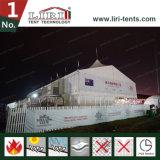 шатры двойного Decker высокого пика 20m x 50m с стеной ABS трудной для салона роскоши VIP