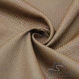 água de 75D 230t & do Sportswear tela 100% tecida do Pongee do poliéster do jacquard da manta do futebol para baixo revestimento ao ar livre Vento-Resistente (E237)