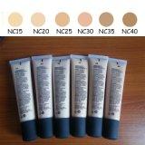 Het Merk SPF 15 van de make-up 40ml het Vloeibare Gezicht van de Slijtage van de Bescherming van de Zon van de Stichting Natuurlijke Lange