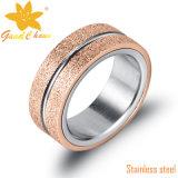 Exsr61b Hete Nieuwe CNC 316L Ingelegde Ring die Vinger Groen maakt