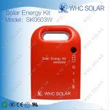 Kit a energia solare di CC di Whc Sk0603W 3W con 2 indicatori luminosi del LED