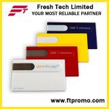 Kreditkarte-Art USB-Blitz-Laufwerk für Zoll (D605)