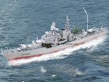 장난감 파괴자 군함 RC 배 모형 1/275 원격 제어 전함 배