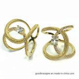 2017 новых кольцо Wholsale 925 конструкции серебряное (R10747)