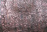 袋、靴、装飾(HS-Y03)のための普及した浮彫りにされたパターン総合的な革