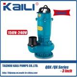 Pompe submersible de QDX (QDX10-16-0.8) avec la sortie de 3 tailles