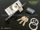 blocage de porte en aluminium de matériel de la porte 81054-C1 glissant le blocage avec la clé