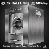 (Dampf) vollautomatische Geräten-industrielle Unterlegscheibe-Zange-Waschmaschine der Wäscherei-100kg