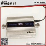 100m2 13dBm de MiniRepeater van het Signaal CDMA 850MHz Cellphone met LCD