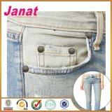 Rebite das calças de brim do metal da liga da tecla do vestuário
