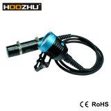 Hoozhu Hu33는 120m 최대 4000 루멘 급강하 빛 Hu33를 방수 처리한다