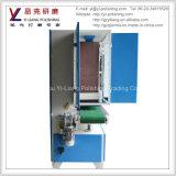Máquinas de pulir de la correa abrasiva para el final superficial plano del alambre
