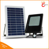 15W 120 LEDs屋外の太陽LEDはPIRの動きセンサーが付いている庭の軽い太陽フラッドライトをつける