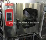 Horno eléctrico del vapor de Combi de las bandejas comerciales de la cocina 6 del acero inoxidable de la buena calidad