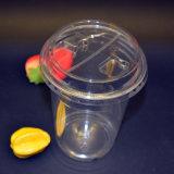 Высокомарочно прозрачной пластичной чашки с крышкой