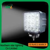 Luces de trabajo 48W 16PCS * viga del LED de la inundación del punto de los accesorios autos de 3W Epistar