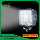 Luces de trabajo 48W del LED 4 pulgadas para los coches