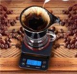 Escala portable 0.1g del café de la cocina de Hostweigh Digital