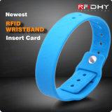 Trasporto di alta qualità che ettichetta Wristband per controllo di accesso