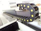 회사 광고를 위한 큰 체재 유기 유리 UV 평상형 트레일러 인쇄 기계