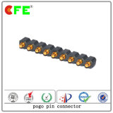 Produto Profissional 9pin Pogo Pin Connector para Produto Digital