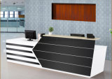 Bureau de réception avant de luxe de salon de bureau de réception (HX-5N083)