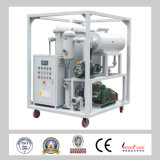 Double Stage High Vacuum Syetem Transformer Oil Filtration Machine / Oil Treatment Plant