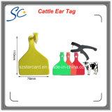 Tier-Stutzen-Marke des neuen Produkt-80X65mm für Vieh-Schaf-Management