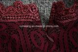 Vestito rosso dal cotone delle donne di Restonic