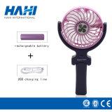 Ventilador eléctrico portable del ventilador recargable de la mano del USB mini