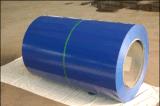 Überzogene Stahlrolle färben