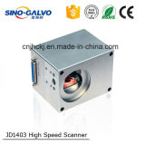 La tête à niveau élevé Jd1403 de galvanomètre à vitesse la plus élevée pilotent l'inscription de laser