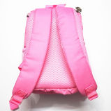 Sacchetto dei bambini di asilo di colore rosa dello zaino del banco del coniglio del fumetto delle neonate