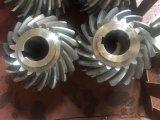 Stahlzahntrieb-schraubenartiger Gang für Drucken-Maschinen-Kegelradgetriebe