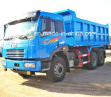 중국 FAW 6X4에 의하여 사용되는 팁 주는 사람 덤프 쓰레기꾼 트럭 (RHD)