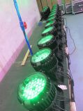 12*15W RGBWA 5in1のズームレンズLEDの同価64/LEDの壁の洗濯機ライトWaterproo IP 65