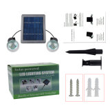 3W bewegliche Birnen-Lampe der Sonnenenergie-LED für im Freienbeleuchtung-Garten-Licht