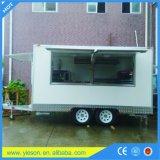 Churros Nahrungsmittel-LKW-Karren-Schlussteil-/Eiscreme-Standplatz