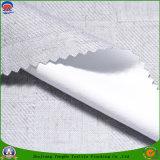 ホーム織物によって編まれるポリエステル上塗を施してあるFrは巻上げ式ブラインドのための停電のカーテンファブリックを防水する