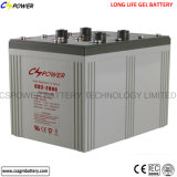 Batterie solaire profonde de Mf Sealead 2V 2000ah de cycle de Cspower