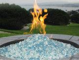 Vetro Tempered del pozzo del fuoco della decorazione di colore di Reflevtive