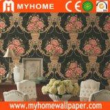 Fournisseur de papier mural Guangzhou Papier peint grand format PVC pour matériel décoratif