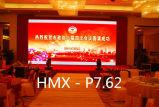 Farbenreiche Innen-Bildschirmanzeigen LED-P7.62 für örtlich festgelegte Installation