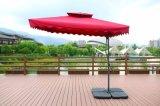 옥외 자전 안뜰 우산 Partable 발리섬